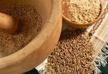 Толокно из пророщенного зерна
